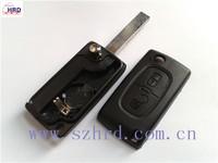 Folding Remote Key Shell Case For Peugeot 107 207 307 307S 308 407 607 2BT DKT0269