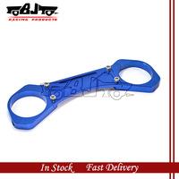 BJ-FFC-001 Blue  Color New arrival Motorbike ATV CNC  parts Front Forks Clamp for honda Cb400 99~12
