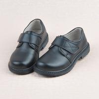 new fahion children black leather shoes dress uniforms leather school boy shoes falt with shoes