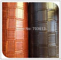968 high quality 5cm woven pattern handbag leather  Big woven grain leather MOQ 1YARD