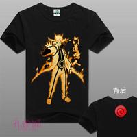 New Naruto Hi-Q Personality Tees Naruto Uzumaki Multicolor Anime peripheral short sleeve 03 Free Shipping