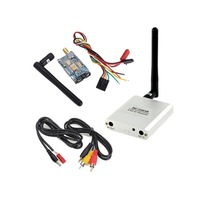 White FPV Video Audio AV RX 5.8G 8CH RC5808 Receiver +200mw TX Transmitter Dropshipping S5K