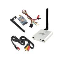 White FPV Video Audio AV RX 5.8G 8CH RC5808 Receiver +200mw TX Transmitter Dropshipping S5K