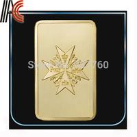 Free shipping Replica bar Red Baron Gold Bar