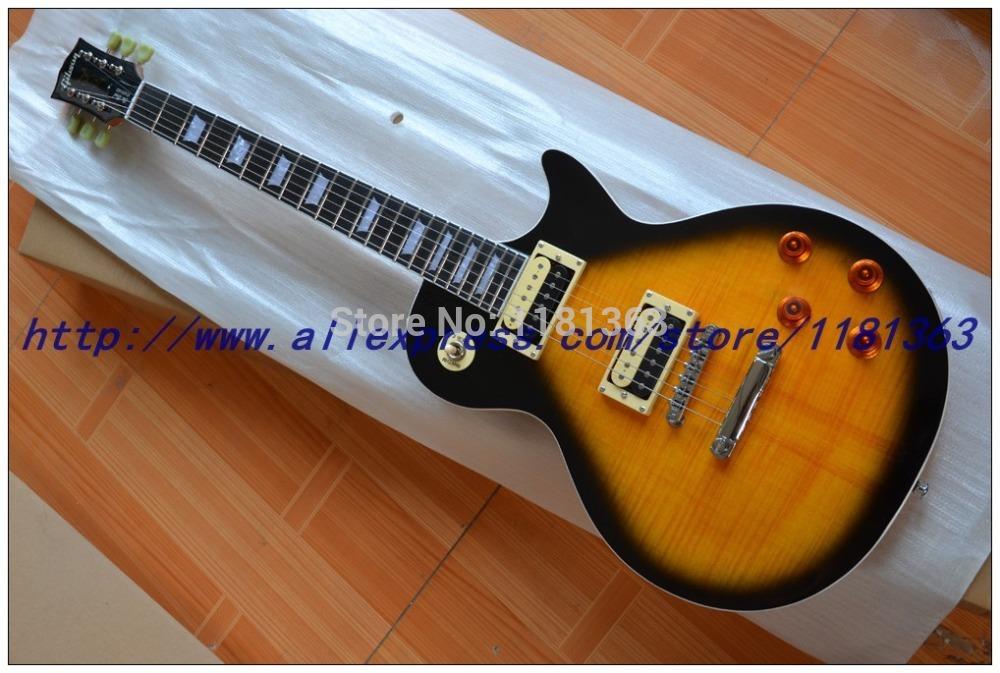 Free Shipping Slash signature Vintage Sunburst electric guitar Ebony fingerboard HOT SALE China Guitar(China (Mainland))