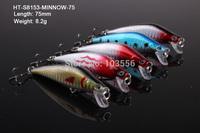 5 X Premium Quality Minnow 7.5cm 8.2g Fishing Lure Fishing Tackle