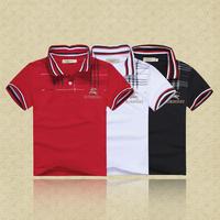 Retail   Brand  2014  New  fashion  summer  children  shirts   solid  boys  shirt  short  sleeve  children  shirt  free shipping