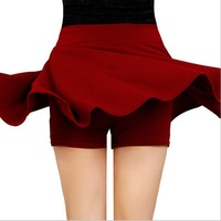 Free Shipping Women Skirts Summer 2014 Fashion High Waist Above knee Mini Polyester Skirts Europe and America Styles F018