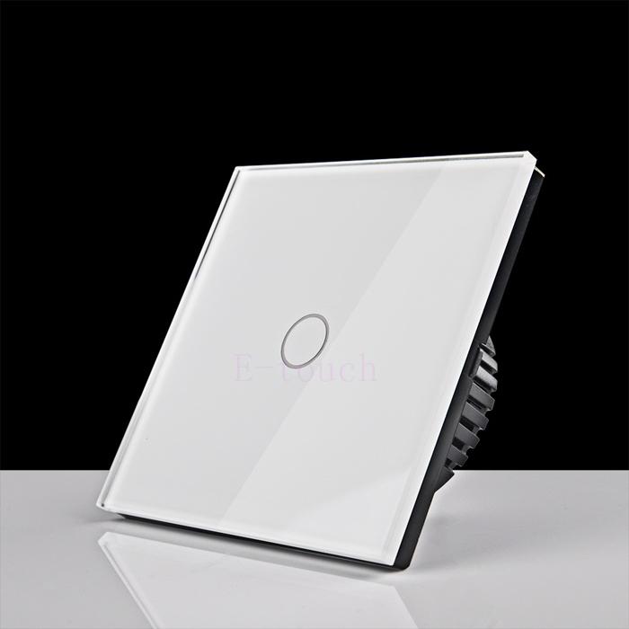 Настенный переключатель E-touch 110/240v 1gang 1way ET051