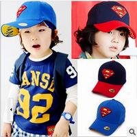 New Fashion 2014 Korean Children Boys Embroidery Cartoon Baseball Cap Hip Hop Cute Snap Back Sport Girl Caps Casual Snapback Hat