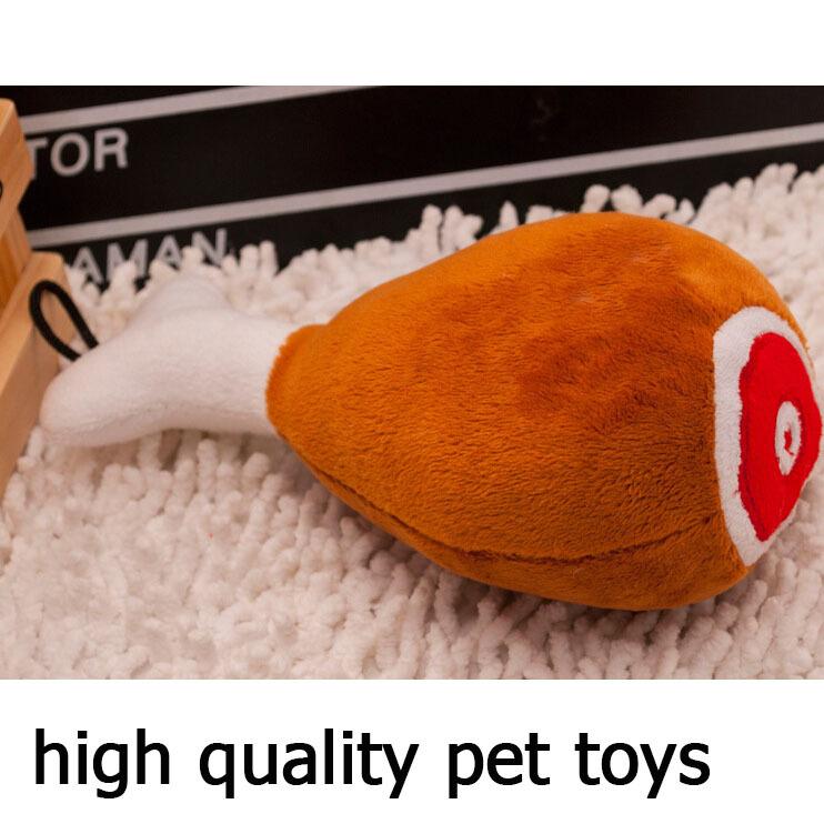 Pet Products Dog Toys Drumstick Squeaky Stuffed Plush, 20PCS(China (Mainland))