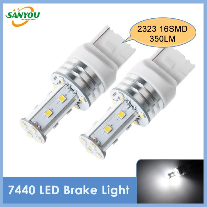 Источник света для авто Sanyou 4pcs/t20 7440 W21W 16 SMD2323 odd weird