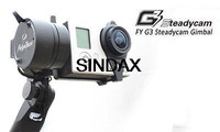 Wholesale New arrival Feiyu G3 Steadycam Handheld 2-Axis Brushless Gimbal for Gopro3 3+ no Battery No Retail