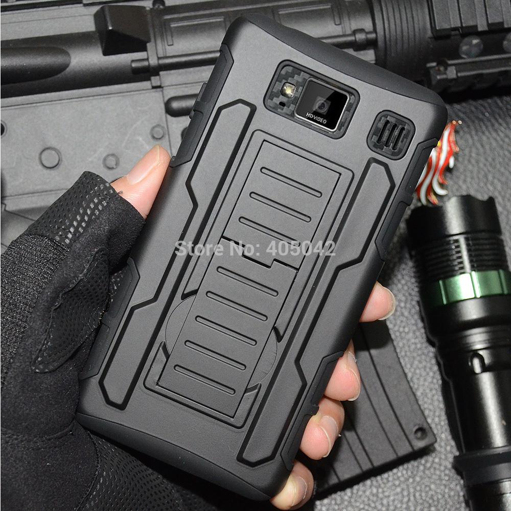 Free shipping For Motorola Droid Razr HD XT925 XT926 Hybrid Future Armor Case Cover Holster Belt Clip BK(China (Mainland))