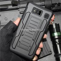 Free shipping For Motorola Droid Razr HD XT925 XT926 Hybrid Future Armor Case Cover Holster Belt Clip BK