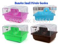 New arrival hamster Small Private Garden super deluxe hamster cage hamster nest hamster house 23*17*17cm