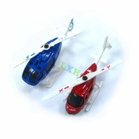 Diecast model Glide helicopter mini metal toy kids holiday gifts home decor free shipping