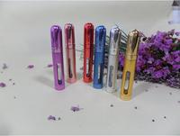 12ml packing bottle of perfume metal spray empty portable bottle 2pcs/lot