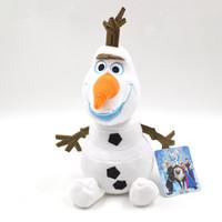 Newborn Bebe Infantil Baby Kids Boys Girls Children Frozen Olaf Plush Toy Snowman Toys Stuffed Dolls Movie Princess Gift 30cm