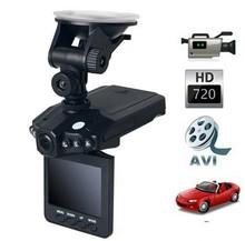 Free Shipping H198 Car DVR with 2.5 Inch 270 Degree Rotated Screen, 6 IR LED, HD 720P Night Vision Car Camera Camcorder Dash Cam(China (Mainland))