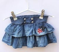 yangzi-199   2015    Baby 0-2 years old cake skirt foreign trade the original single sand washing joker denim skirts