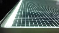LGP/600*600*6mm/for lighting/3D V-cutting technology/Uniformity>90%