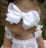 Newborn Baby Girl Bowknot Headband Hair Accessories Children Headwear Flower Hair Bows Cute Princess Style Hair Band(10 pcs/lot)