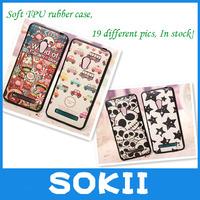 Sokii,For ASUS ZenFone 5 Soft TPU Cartoon Printed Case Cover,TPU painting cartoon soft case For ASUS ZenFone 5 case+Screen Film