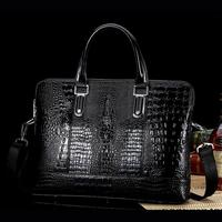 Fashion Designer Luxurious Men's Handbags Men Shoulder Bags Genuine Leather Men Messenger Bag Bolsas 3 Color 2 Size (NSB-026)