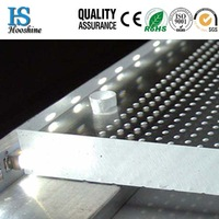 LGP for panel light/300*300*4mm/for lighting/laser dotting technology/Uniformity>90%