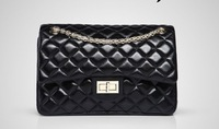 Genuine Leather bags lattice design plaid channel style Quilted Bag Shoulder Bag Quilted Bags 263