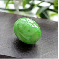 F08708 Unisex  1 Pcs Lucky Jade Sphere Pendant Chokers Perfect with Collarbone+freeshipment
