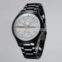 CURREN Brand Japan Movement Quartz sports watches full Steel band Wrist Watch Men Business Clock Military Casual Watches 8128