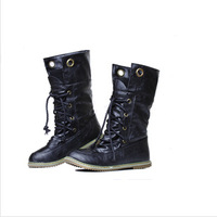 2014 spring and autumn new super tide bind flat boots wool short boots Martin boots 115