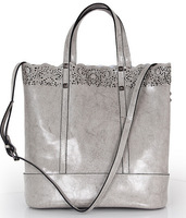 2014 new European and American retro hollow carved women shopping bag with a small bag large capacity big size