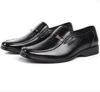 2014 New Man Dress Flats  Fashion Comfortable Black Shoes for Men Spring Autumn size 38-44 XMP088
