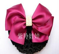 Hair accessory Bling Rhinestone Bow Butterfly Rose Hair Clips Hair Grip Satin Ribbon Flower Ornament  Heddress flower