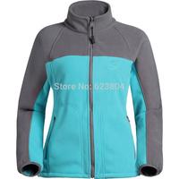 2014 Autumn Winter Overcoat Cardigan Casual Hiking Windbreakers Outdoor Antistatic Jackets Keep Warm Women Fleece