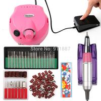 18W 30000 RPM Pro Acrylic Nail Drill Machine File Set Grinding Bits Manicure Pedicure Tools