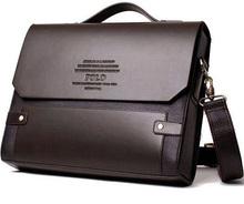 Free shipping 2014 Hot Men's Bags Briefcase casual men messenger bag genuine leather male shoulder bag  5size MBG5(China (Mainland))