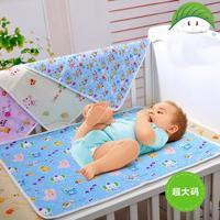 Cotton infant baby diapers / postpartum menstruation pad cotton cartoon waterproof changing mat