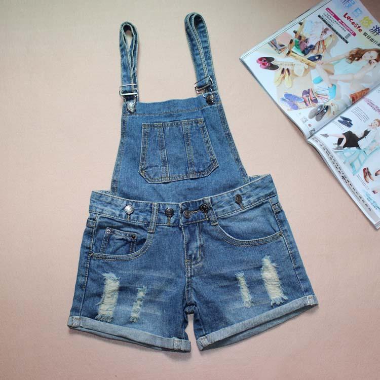 Как сделать из джинс шорты комбинезон
