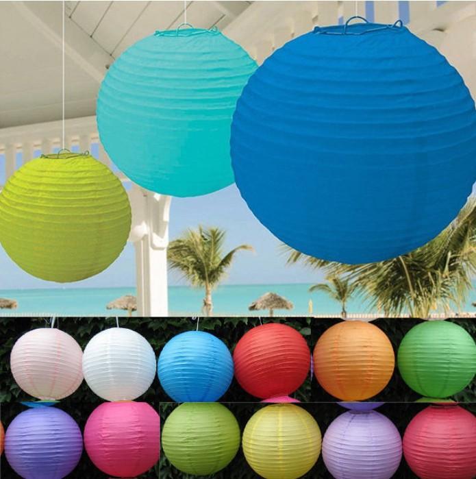 (40pcs/lot) 8''(20cm) Chinese paper lantern lamp festival wedding decoration multi color for choosing wedding lantern B016(China (Mainland))