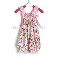 2014 New Floral Design Bubble infant girl pants free shipping