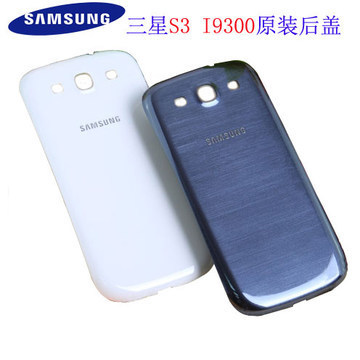 The battery back cover case housing samsung Galaxy S3 I9300 i747 t999 pebble blue, black, white.Free shipping(China (Mainland))