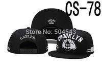 Cayler & Sons CROOKLYN Black Snapback Cap CS-78