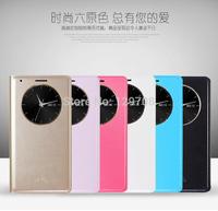 Luxury Sleeve Bag For Korea LG Optimus G3 Interlligent View Flip Cover Case PU Leather Smart Cases For LG G3 1pcs/lot