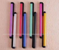 200 pcs/lot  Mini stylus Touch Pen with Plastic Material Capacitive touch pen for phone and Tablet PC