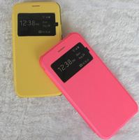 New Premium Flip PU Leather Cover Case with Window for iPhone 6 Case / Cover