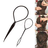 1Set Topsy Tail Hair Braid Ponytail DIY Maker Styling Tool  Magic[240935]